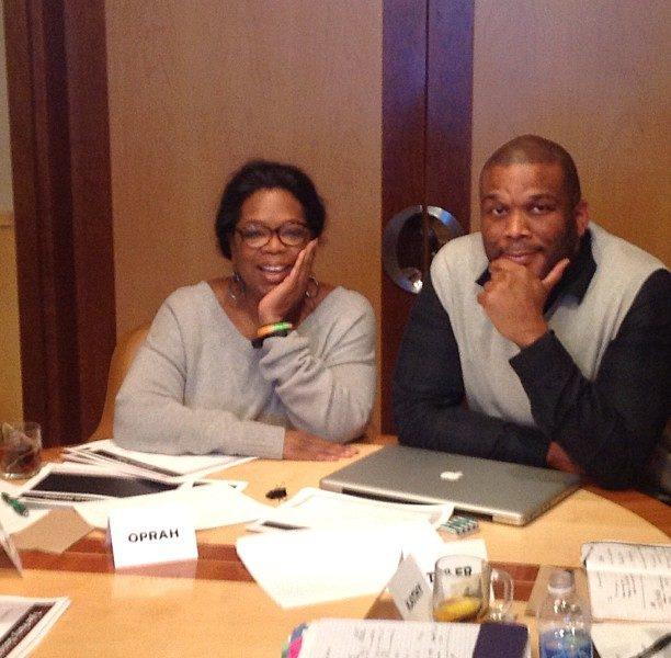 (UPDATE) Gayle King Shuts Down Rumors Tyler Perry & Oprah Are Feuding