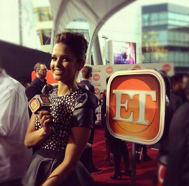 [Audio] Rocsi Diaz Makes Her Entertainment Tonight Debut