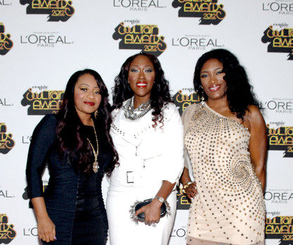 Red Carpet Photos: Soul Train Awards 2012: Melanie Fiona, Marsha Ambrosius, Elle Varner