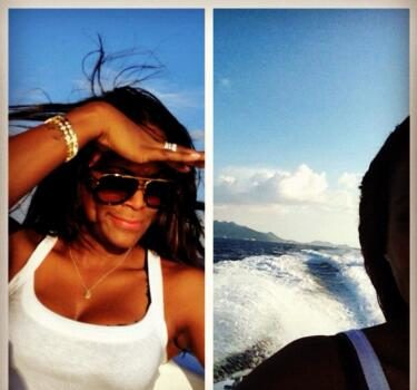 Tameka Raymond Celebrates Son Usher IV's Bday, Makes a Getaway to Anguilla