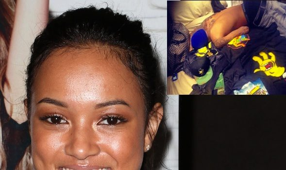 Karrueche Responds to Rihanna's Photo of Chris Brown + Chris Brown Deletes His Twitter