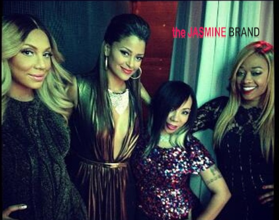 (Candids) Tamar Braxton, Trina & Claudia Jordan On Set for 'Tiny Tonight' Talk Show