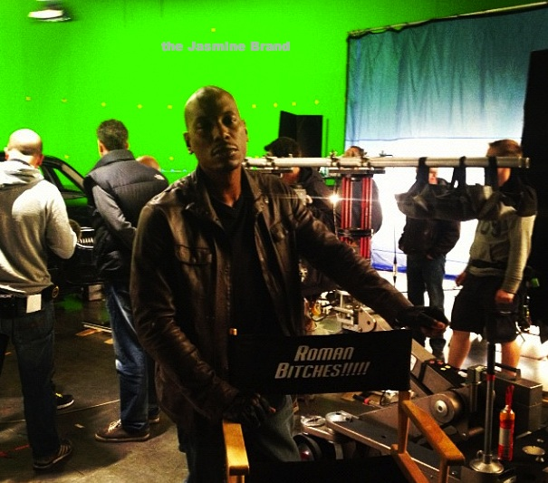 A Chest Naked Trey Songz + Tyrese On 'Fast & Furious Set'