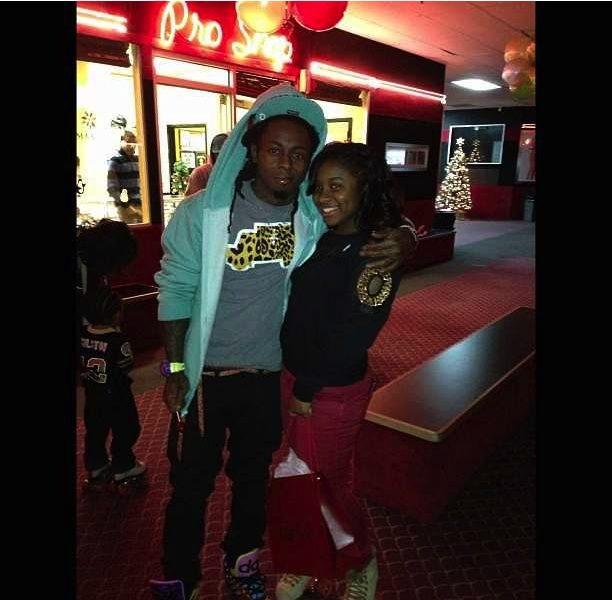 [Photos] Lil Wayne & Toya Wright Throw Skating Party for Daughter Reginae's 14th Birthday
