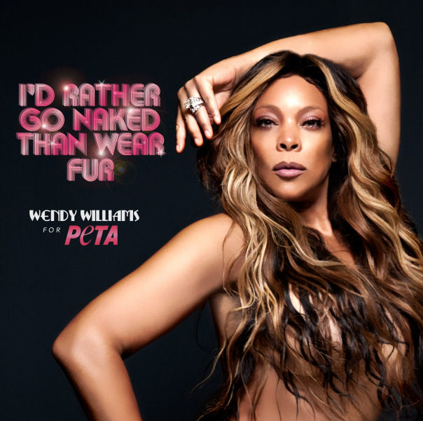 Haute or Hot A** Mess : How Does Wendy Williams Look Naked in PETA Ad?