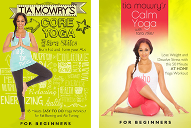 Actress Tia Mowry Jumps Into Fitness Game, Releases Yoga DVD