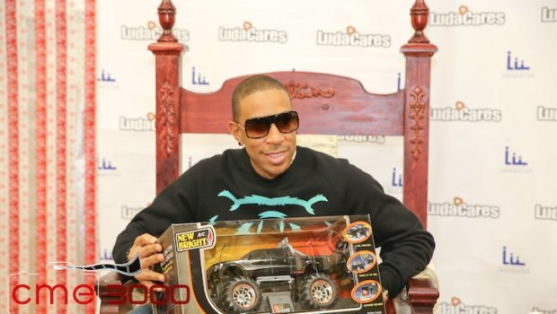 Ludacris Spreads Holiday Cheer, Donates Toys & Clothes to Atlanta City Youth