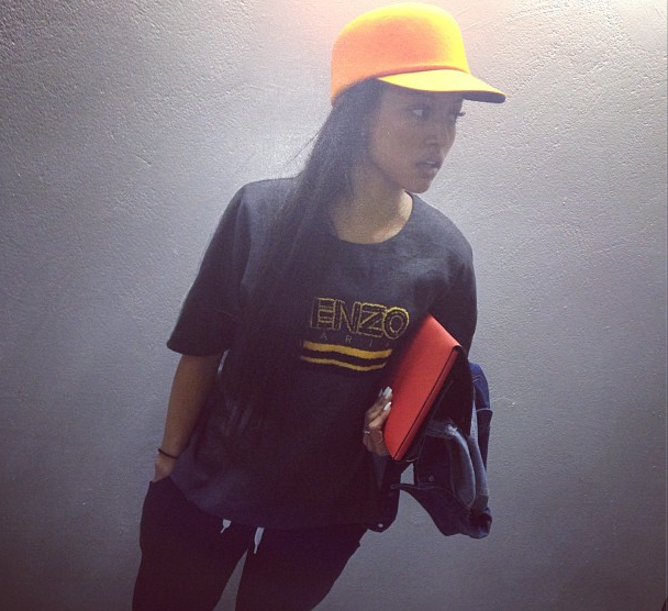 Karrueche Continues Her Stay In Paris, Promoting 'The Kill'