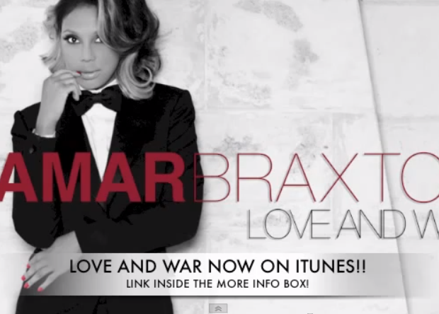 [New Music] Tamar Braxton Debuts New Song, 'Love & War'