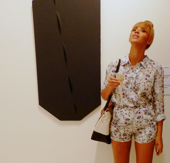 Beyonce Goes Floral in December, for Miami's Art Basel Event