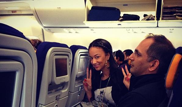 Basketball Wives LA's Draya Michele Backpacks Through Rome