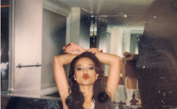 Move Over Rihanna, Karrueche Debuts Her First Lingerie Photo