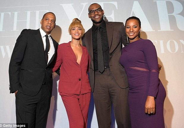 [Photos] Beyonce, Jay-Z Attend LeBron James' Sports Illustrated Crowning
