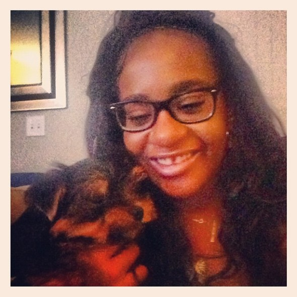 bobbi kristina-puppy-the jasmine brand