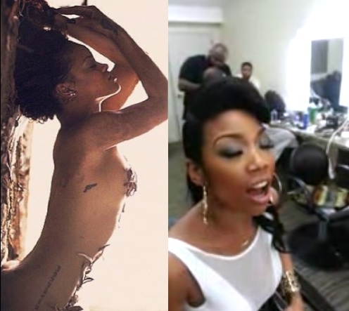 """[Video] Brandy Tries Her Hand At Rihanna's """"Diamonds"""" + Covers JET Mag"""