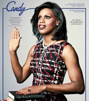 Transgender Model Portrays First Lady Michelle Obama