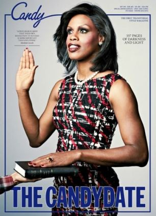 Transgender Model Portrays First Lady Michelle Obama