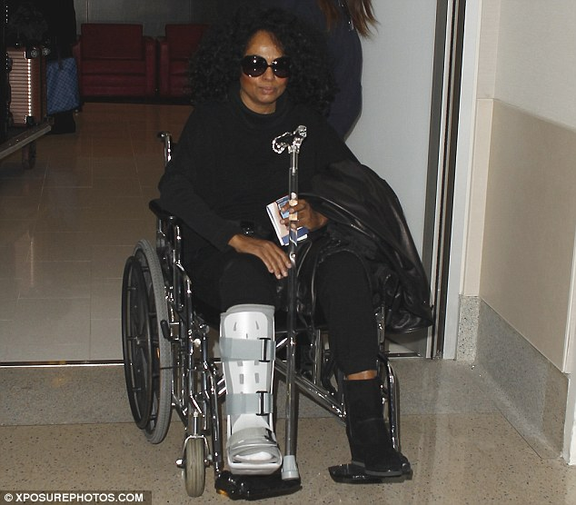 85d3c05e8e Ouch! Diana Ross Breaks Her Ankle At Naomi Campbell's Party ...