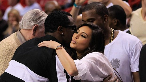 Kim Kardashian Gives Diddy Air Kisses, Russell Simmons Beach Cakin' + More Celeb Stalking