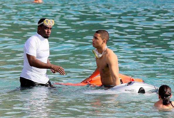 Diddy's Snorkels In St. Barts + T.I.'s First Week Album Sells Released