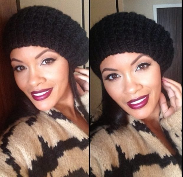 Evelyn Lozada Goes Nude & 'Cheeky' for Winter Themed PETA Ad