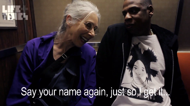 [Video] Jay-Z Rides Subway With Elderly Woman, Tells Her 'I'm not very Famous.'