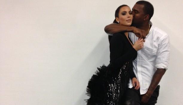 Kim Kardashian & Kanye West Are Pregnant + Kardashian Sisters Tweet Their Excitement