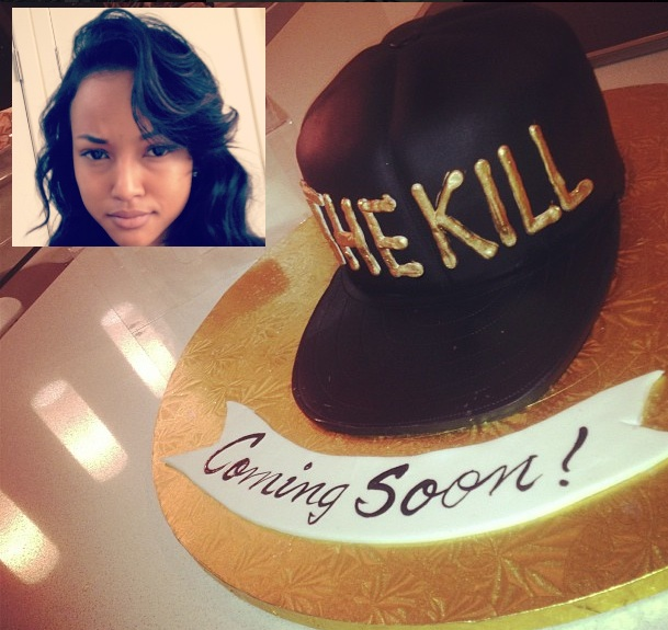 [Photo] Karrueche Hints That 'The Kill' Is Coming Soon