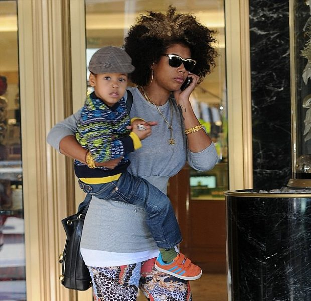 Stylin' on You Baby Mamas: Kelis Serves Mommy Chic in Beverly Hills