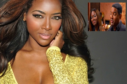 RHOA's Kenya Moore Responds to Allegations She Faked Relationship w/ Walter