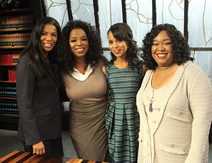 First Look At Oprah's 'Next Chapter' With Scandal's Shonda Rhimes + Oprah Snags Jamie Foxx