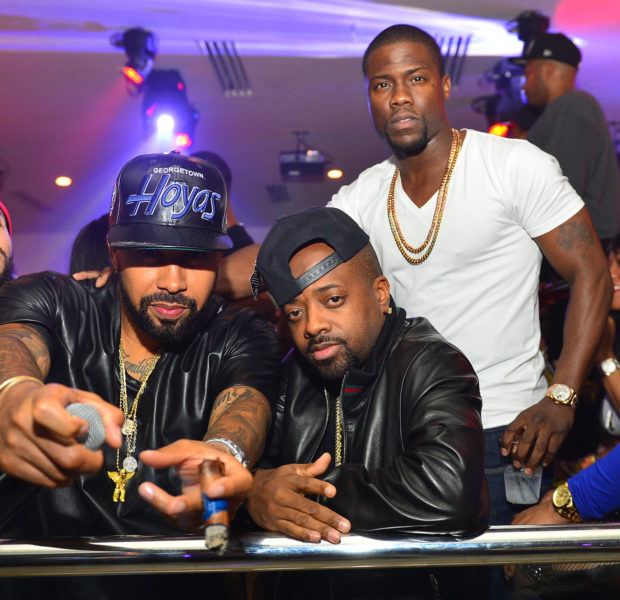 Kevin Hart, Keri Hilson, Lance Gross & Friends Party At Atlanta's Compound