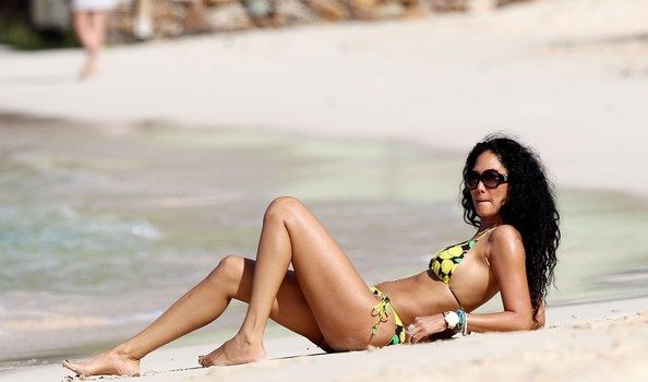 Kimora Lee Simmons Spends Some Alone Time In St. Barts
