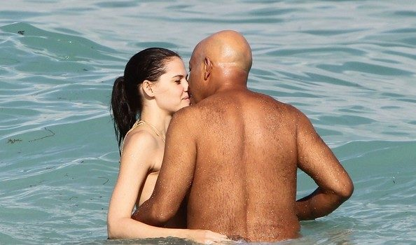 Russell Simmons Gets Beach Kissy Face + Rita Ora Makes Debut, Post Twitter Scandal