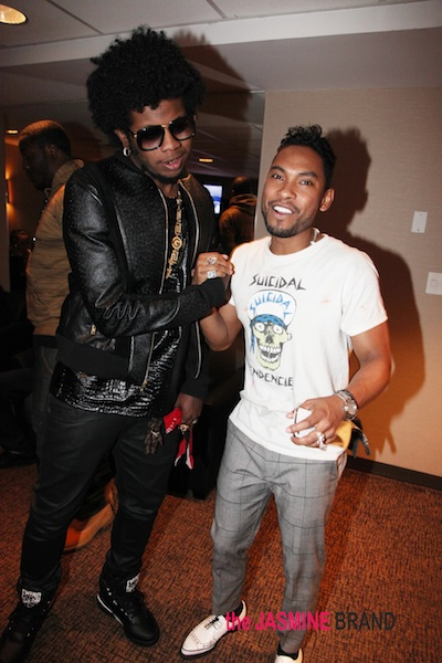 Backstage With Miguel, Trinidad James & Celebrity Friends