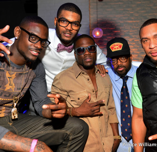 NBA Baller Josh Smith Celebrates B-Day in ATL with Tameka Raymond, Kevin Hart & Friends