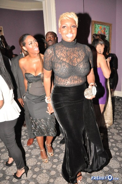 nene leakes-kenya moore-christmas party d-the jasmine brand