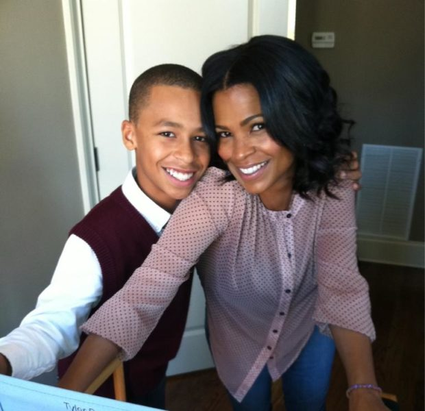 Nia & Son Chill On Set, Tatyana Ali Supports Teachers + More Celeb Stalking
