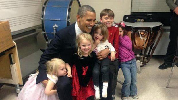 [Video] President Obama Speaks At Sandy Hook Vigil, Visits Family Members