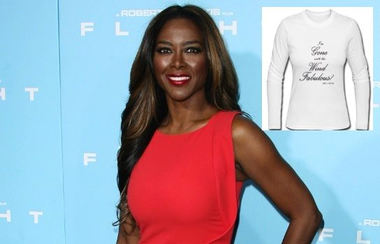 Atlanta Housewives Kenya Moore Launches 'Gone With the Wind' T-Shirt Line