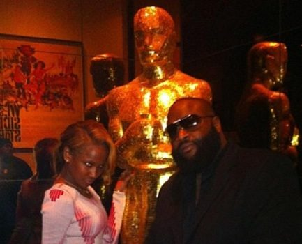 [Photos] Rick Ross & Girlfriend Attend 'Django' Movie Premiere