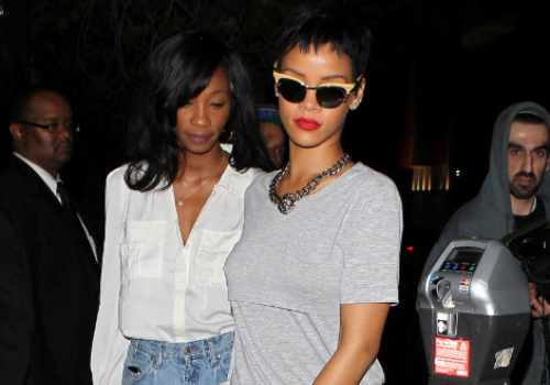 Rihanna's BFF, Melissa, Vents on Instagram About Rumors Karrueche's in Paris With Chris