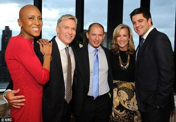 robin roberts-attends sam champion wedding-the jasmine brand