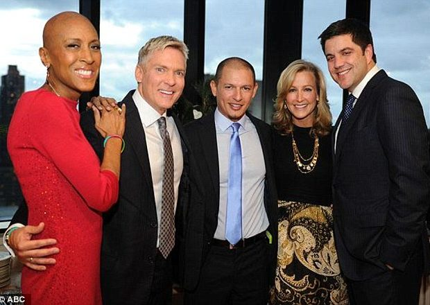 Robin Roberts Makes Rare Public Appearance + Russell Simmons Brings Girlfriend to St. Barts