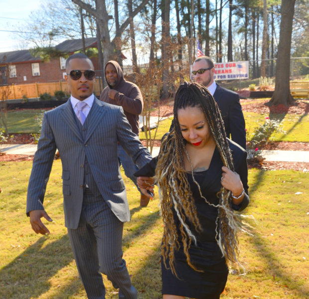 [Photos] T.I. & Tiny Give Back to Homeless Veterans in ATL