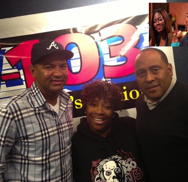 [Audio] Walter Calls ATL Radio, Confesses Kenya Moore Asked Him to Play Her Boyfriend