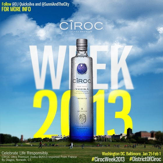 [Sponsored Event] Washington, DC: Ciroc Week