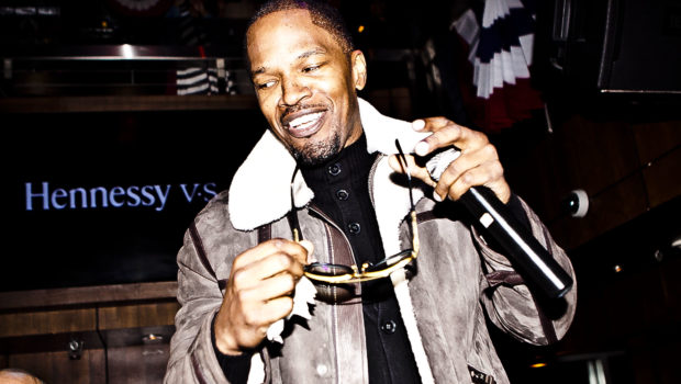 Jamie Foxx, Victor Cruz Take Over DC Night Club