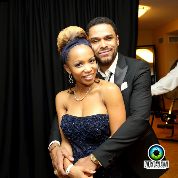 Maxwell, Elise Neal & Friends Attend Victory Inaugural Ball