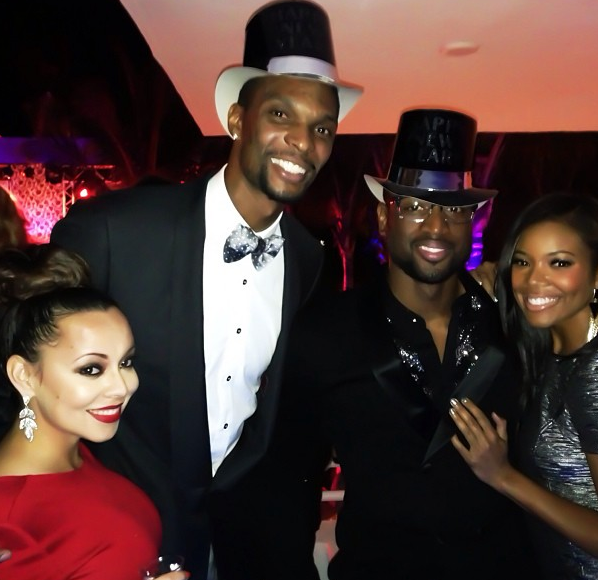 NBA Ballers Lebron James, D.Wade Cake + ATL Reality Stars Throw NYE House Party